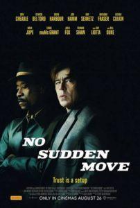 NO SUDDEN MOVE Trailer Released